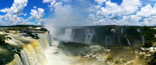 The Magical Iguazu Falls